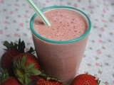 Mango, Strawberry, Banana Smoothie