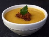 Roasted Butternut Squash and Apple Soup for the very last time and a big Thank You