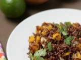 Mango fried rice