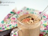 Smoothie figue-noisette