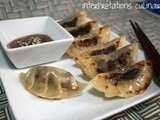 Surprisingly fruity gyoza