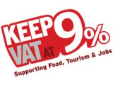 Keep vat at 9% for the Hospitality Sector in Budget 2018