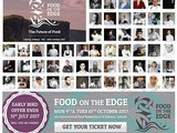 Limited Early Bird Two-Day Tickets for Food On The Edge available until the 31st July