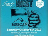 Mescan Brewery announces Oktoberfest West Saturday October 5th 2019, 1 pm till closing time