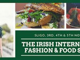 New Irish International Fashion and Food Summit in Sligo this November