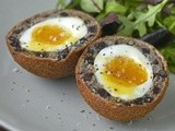 Scotch Duck Eggs made with Black Pudding