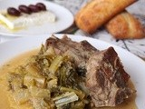 Lamb with Greens (Fricassee)