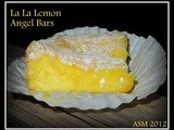 2 Ingredient La La Lemon Angel Cake Bars