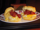 Breakfast for Dinner: Bacon, Egg and Cheese Biscuits