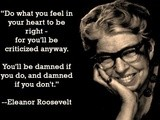 Quotations: First Lady Eleanor Roosevelt