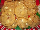 White Chocolate Chip Pecan Cookies skip the Macadamias