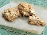 Happy New Year (Apple Oatmeal Scones with Honey)