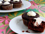 Whoopie Pie Cupcakes with Beet Puree