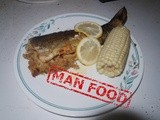 Man food: Crab Meat Stuffed Trout