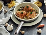Piletina u belom vinu / Chicken in White Wine Sauce