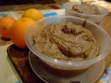 Liver pate with orange