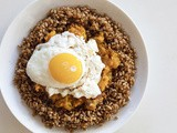 Creamy Wheat Berry Breakfast Hash Bowl