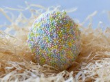 How to Cover Easter Eggs in Sprinkles