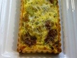 Leek & Stilton tart .... Savoury for any time, from brunch to supper