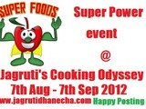 Announcing jco event - Super foods~Super Power