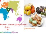 Announcing series event- International Celebration - Desserts/Bakes/Sweets for the