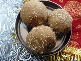 Churma Ladoo m/w method - Wheat flour Ladoo~ Festive Special