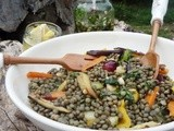 Got the Title :) - Multi -Tasker and Talented Woman ~ Lentil Salad with Gremolata