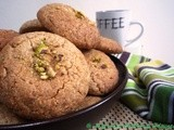 Mixed Nuts, Oats and Whole Wheat Cookies