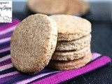 Wholewheat ( wholemeal) oaty crackers
