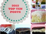 Before Diving Into 2014, Lets Look Back to 2013's Top Ten Posts (with a few of my personal favorites too)