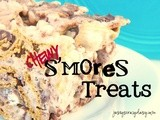 Chewy s'mores Bars (Anytime s'mores) - No Bake {and ***Giveaway*** for The s'mores Cookbook}