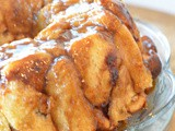 Nutty Rum Pull Apart Bread