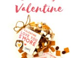 Printable s'mores Valentines