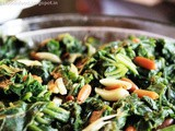 Garlicky Bottle gourd Greens