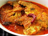 Pomfret Fish Curry - Parsi Style