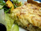 3 Cheese & Leek Tart -  it's all down to taste
