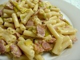 Bacon & Leek Pasta - our very favourite fall-back recipe