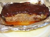 Bbq meatloaf  - man pleasing food