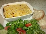 Cheesey Seafood Gratin - fish is delicious on a budget