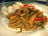 Chicken Chow Mein - who needs the takeaway