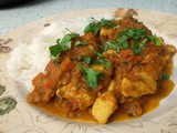 Chicken Jalfrezi - a lighter but still tasty version