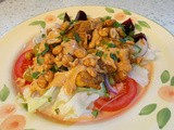 Chicken Satay Salad - a long way from ordinary