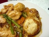 Chicken & Tenderstem® Broccoli Casserole with Cheesy Dumplings