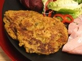 Curried Carrot & Mushroom Pancake Fritters