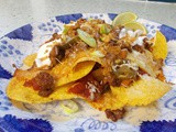 Fully Loaded Nachos - the turkey version