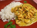 Hot Punjabi King Prawn Curry - and it is hot, too