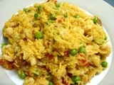 Lemony Prawn & Chorizo Rice - a fab quick one pot supper