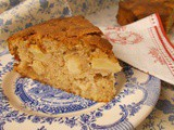 One bowl apple cake - moist, cinnamon rich and fantastic