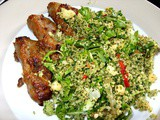 Ottolenghi's Green Couscous : a revelation in flavours