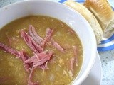 Pea & Ham Soup - so near, but yet so far